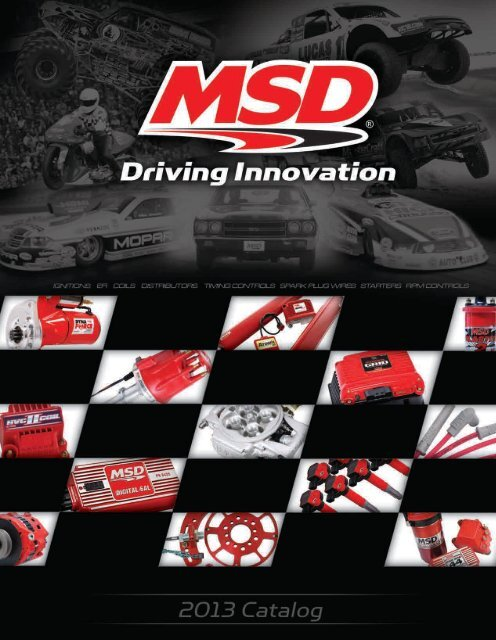 MSD Ignition 2357 Cam Sync Distributor with Steel Gear for Chevy Small Block