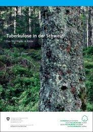TB in der Schweiz - Das Wichtigste in Kürze 2011