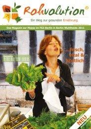 ... frisch, vital & köstlich - Rohvolution