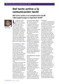 Educación preescolar en ADEFAV - Deafblind International - Page 4