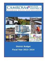 Final Budget 2013-14.pdf - Camrosa Water District