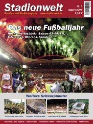 Komplettes Heft als PDF - Stadionwelt
