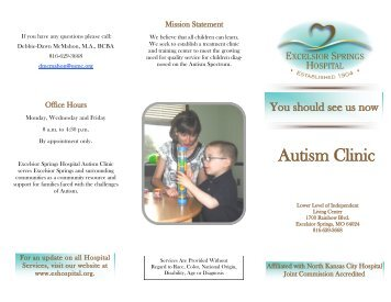 Autism Clinic - Excelsior Springs