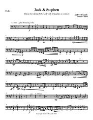 Cello (Players 2 and 3) - PDF format