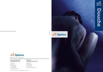Producto verzicht Douche - Sphinx