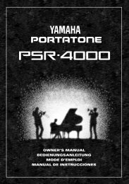 3305KB - Yamaha