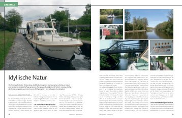 Idyllische Natur - Linssen Boating Holidays