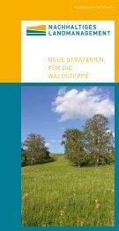 Neue StrategieN für die WaldSteppe - Nachhaltiges Landmanagement