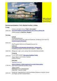 Programm (PDF) - GWS Netzwerk