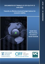 Towards an effective structural budget balance for economic ... - ielat