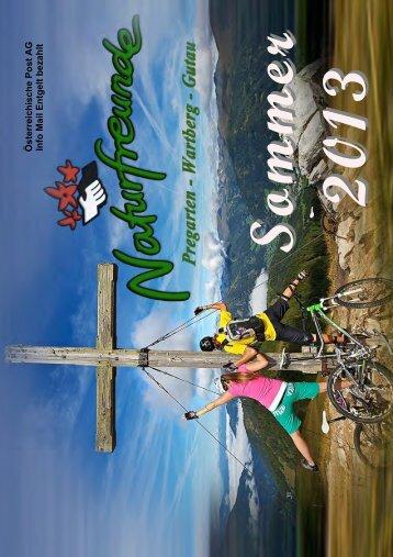 Sommerprogramm 2013 - Naturfreunde PREGARTEN