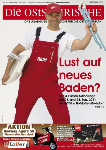 Großstück- AKTION 22.09 - 15.10.2011 JETZT VORMERKEN