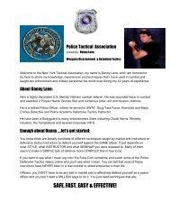SAFE, FAST, EASY & EFFECTIVE! - Danny Lane Martial Arts Website