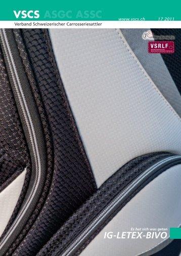 IG-LETEX-BIVO - Verband Schweizerischer Carrosseriesattler