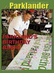 October 2008 - The Parklander Magazine