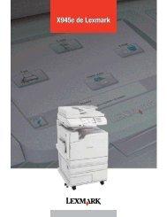 X945e spec sheet-Fr:16783lexD01R2.qxd - Lexmark