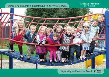 WCCS 09-10 Annual Report - Warren County Community Services