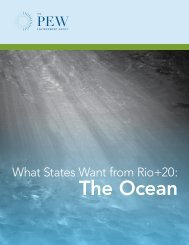 What States Want from Rio+20: Oceans - Pew environment