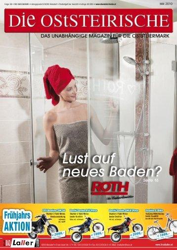 Lust auf neues Baden? Seite 16 - Meine Steirische.at