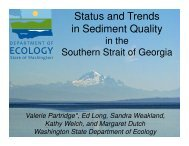Status and Trends in Sediment Quality