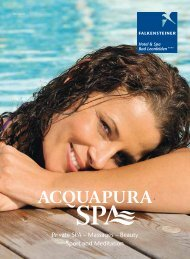 ACQUAPURA DAY SPA - Hotel Residence Meran  2000