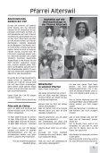 Gemeinsames Pfarrblatt für die Seelsorgeeinheit Sense Mitte - Seite 5