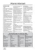 Gemeinsames Pfarrblatt für die Seelsorgeeinheit Sense Mitte - Seite 6