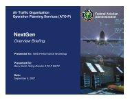 NextGen Overview Briefing