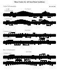Tuba Scale Sheet - Page 2