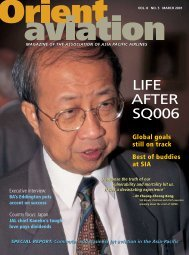LIFE AFTER SQ006 - Orient Aviation