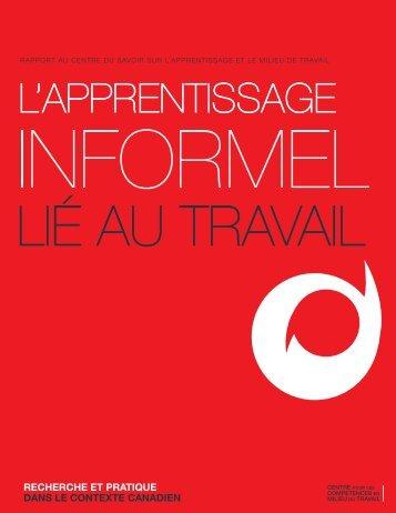 Apprentissage informel lié au travail - Base de données en ...