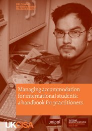 Managing accommodation for international students: a ... - UKCISA