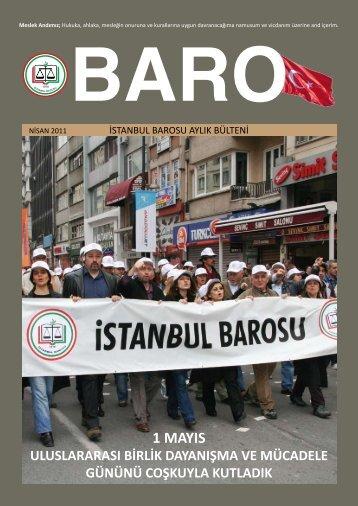 1 mayıs - İstanbul Barosu