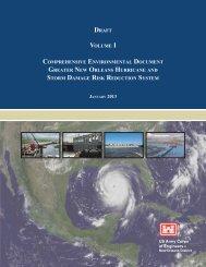 Draft Comprehensive Environmental Document Vol I - NOLA ...