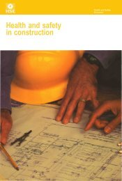 Health and safety in construction - Environ Safety Management