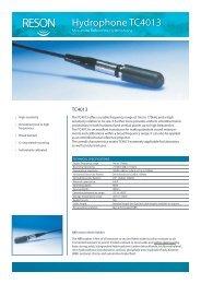 Hydrophone TC4013 - Teledyne Reson