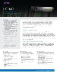 HD I/O
