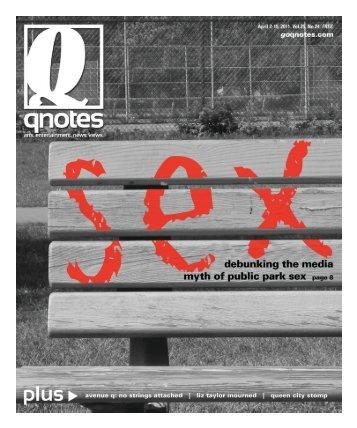 April 2-15 . 2011 qnotes