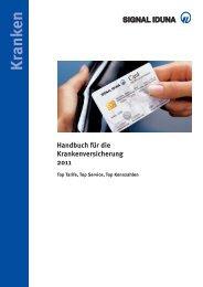 SIGNAL KV-Handbuch - SIGNAL IDUNA Vertriebspartnerservice AG