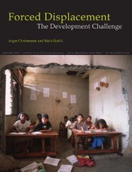 Forced Displacement – The Development Challenge