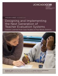 Designing and Implementing the Next Generation of Teacher ...