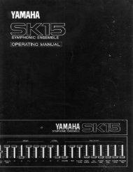 SK15 - Yamaha