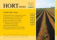 AMISTAR 250 SC Now registered for in-furrow use - Pest Genie
