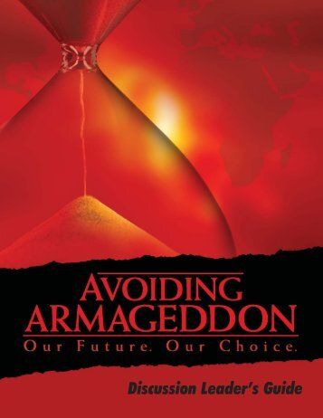 Armageddon Discussion Leader's Guide - PBS