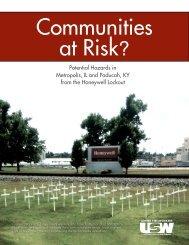 Communities at Risk? - USW Local 7-669
