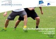 Indoor-Cycling GK - Hochschulsport - Carl von Ossietzky Universität ...