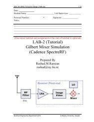 MOM capacitor design challenges and solutions SFT - The Designer's