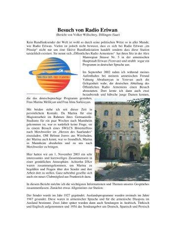 Besuch von Radio Eriwan. - Wwrundfunk.de