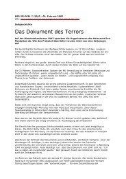 Das Dokument des Terrors