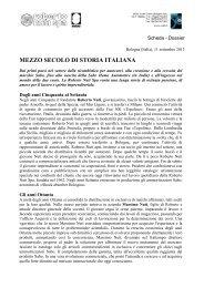 MEZZO SECOLO DI STORIA ITALIANA - Sabo
